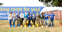 FA 15: Groundbreaking for 2 new residence halls 2015