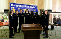 FA 15: Press Conference for National FFA President Taylor McNeel at Arkansas Capitol