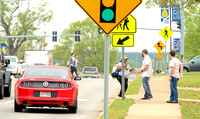 Look Up Day to promote pedestrian safety