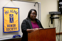 FA 16: Phi Alpha Honors Society Inductee