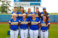 SAU Softball Team photos Sp16