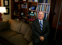 Portrait of SAU President Dr. Berry