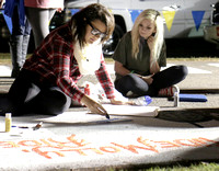 2014 Homecoming: Street Painting