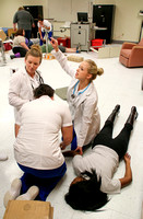 Nursing disaster simulation with Theatre FA16